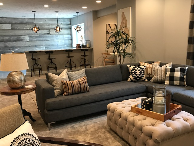 Five Years After Building Their Home In Omaha And Watching Their Kids Grow  Up Into Teenagers, This Family Realized It Was Time To Finish Their  Basement And ...
