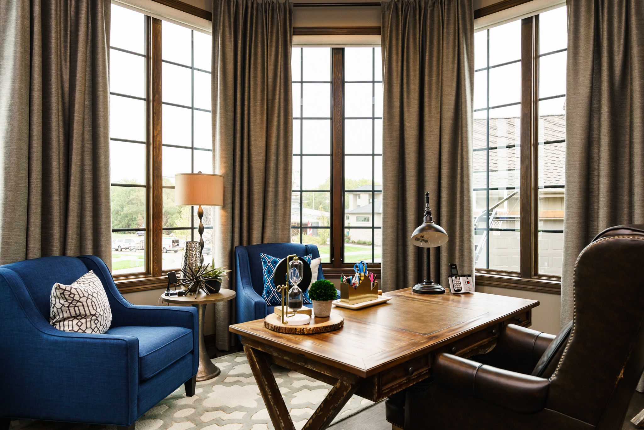 Fluff Interior Design To Quote Our Clientu2026let Fluff U201cTake The Home Office  Blue Omaha Interior Designer Fluff To Quote Our Client Let Fluff Take The  Stress ...